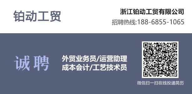 永康人才网--浙江铂动工贸有限公司