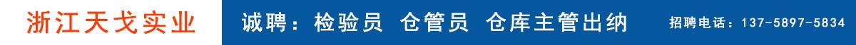 永康人才网--浙江天戈实业有限公司
