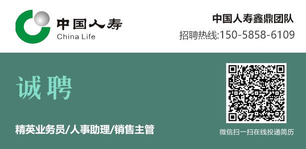 永康人才网--中国人寿鑫鼎团队