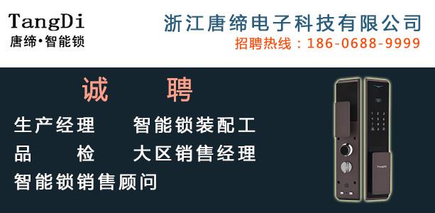 永康人才网--浙江唐缔电子科技有限公司